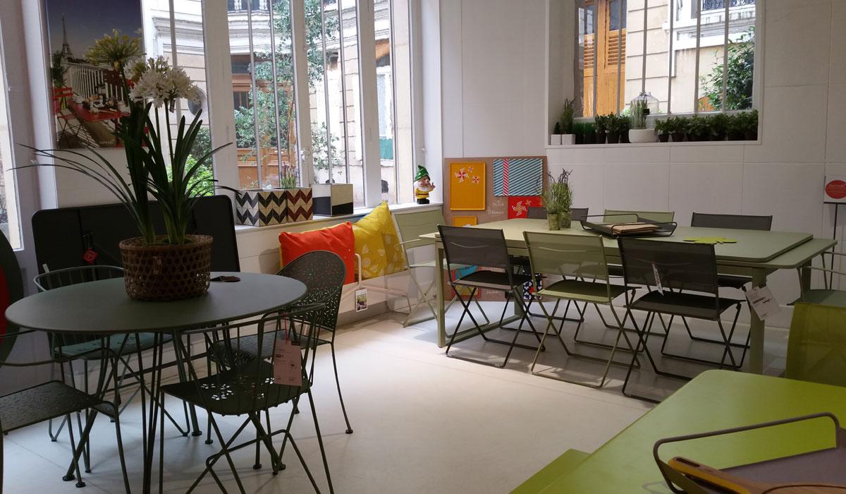 magasin de mobilier de jardin et terrasse ledru rollin fermob paris