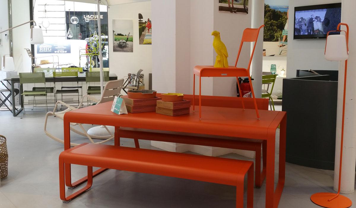 mobilier de jardin et terrasse raspail fermob paris
